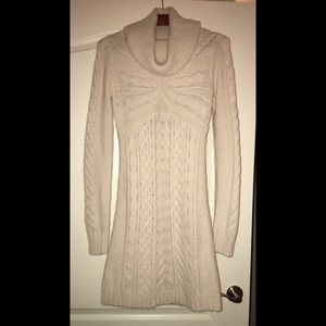 BCBG MAX AZRIA Beautiful Turtleneck Sweater Dress